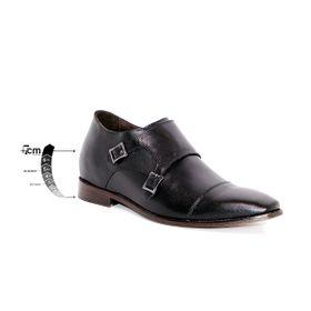Zapato Formal Lawyers Negro Max Denegri +7cms De Altura_75316