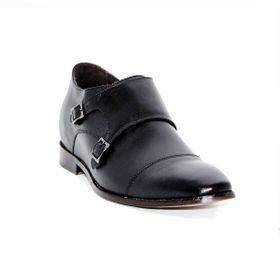 Zapato Formal Lawyers Negro Max Denegri +7cms De Altura_72740