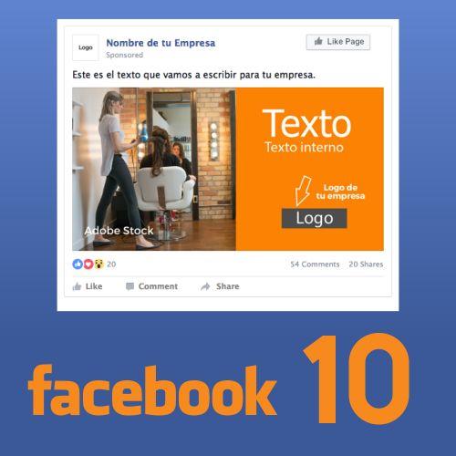 10 Piezas de contenidos para Facebook