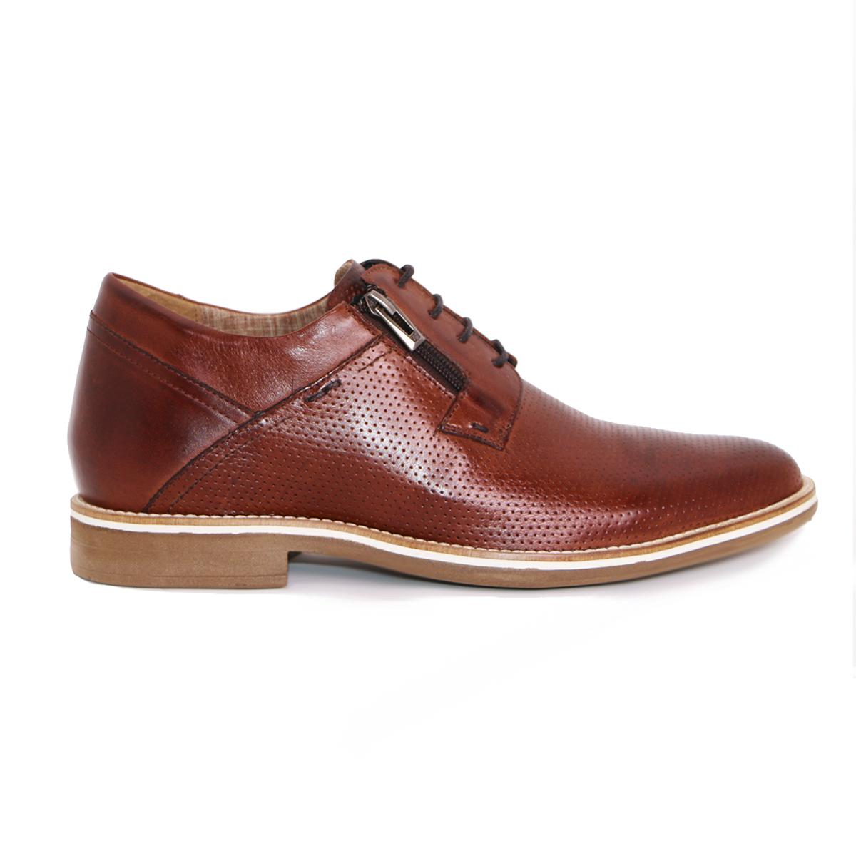 Zapato Casual Break Café Max Denegri +7cms De Altura_72699