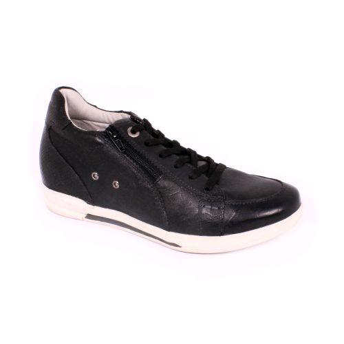 Zapato Casual One Way Negro Max Denegri +7cm de Altura