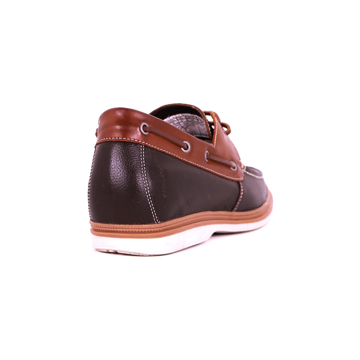 Zapato Casual Walk Café/Café Max Denegri +7cms de Altura_73411
