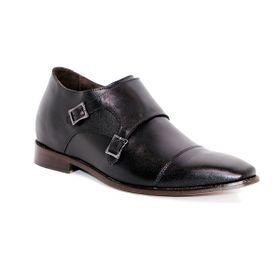 Zapato Formal Lawyers Negro Max Denegri +7cms de Altura