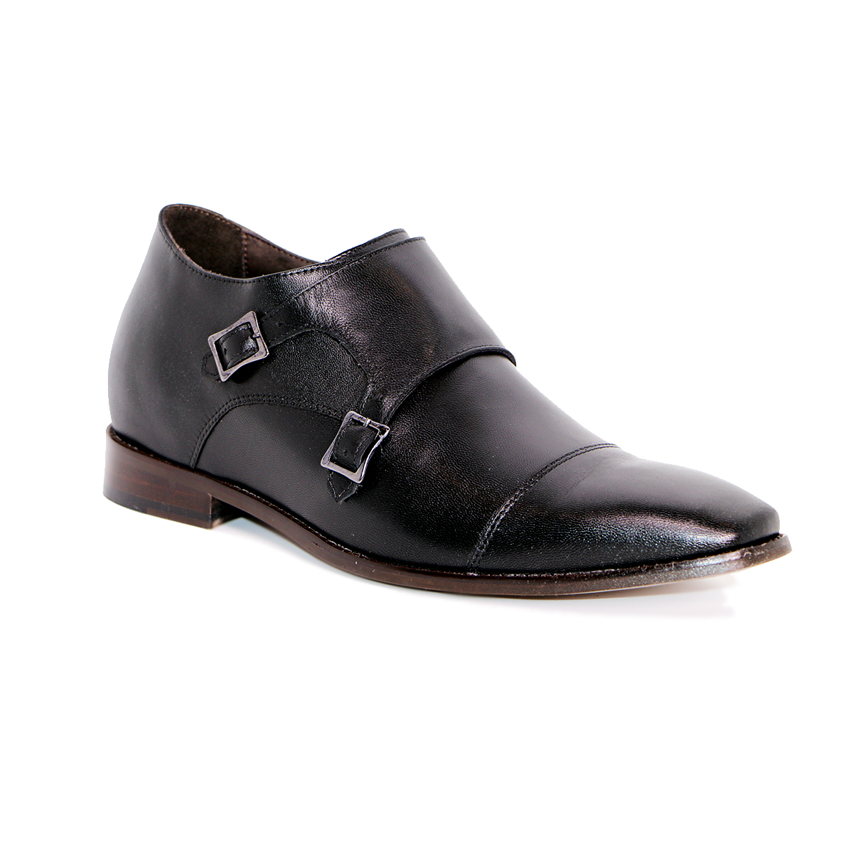 Zapato Formal Lawyers Negro Max Denegri +7cms De Altura_72933