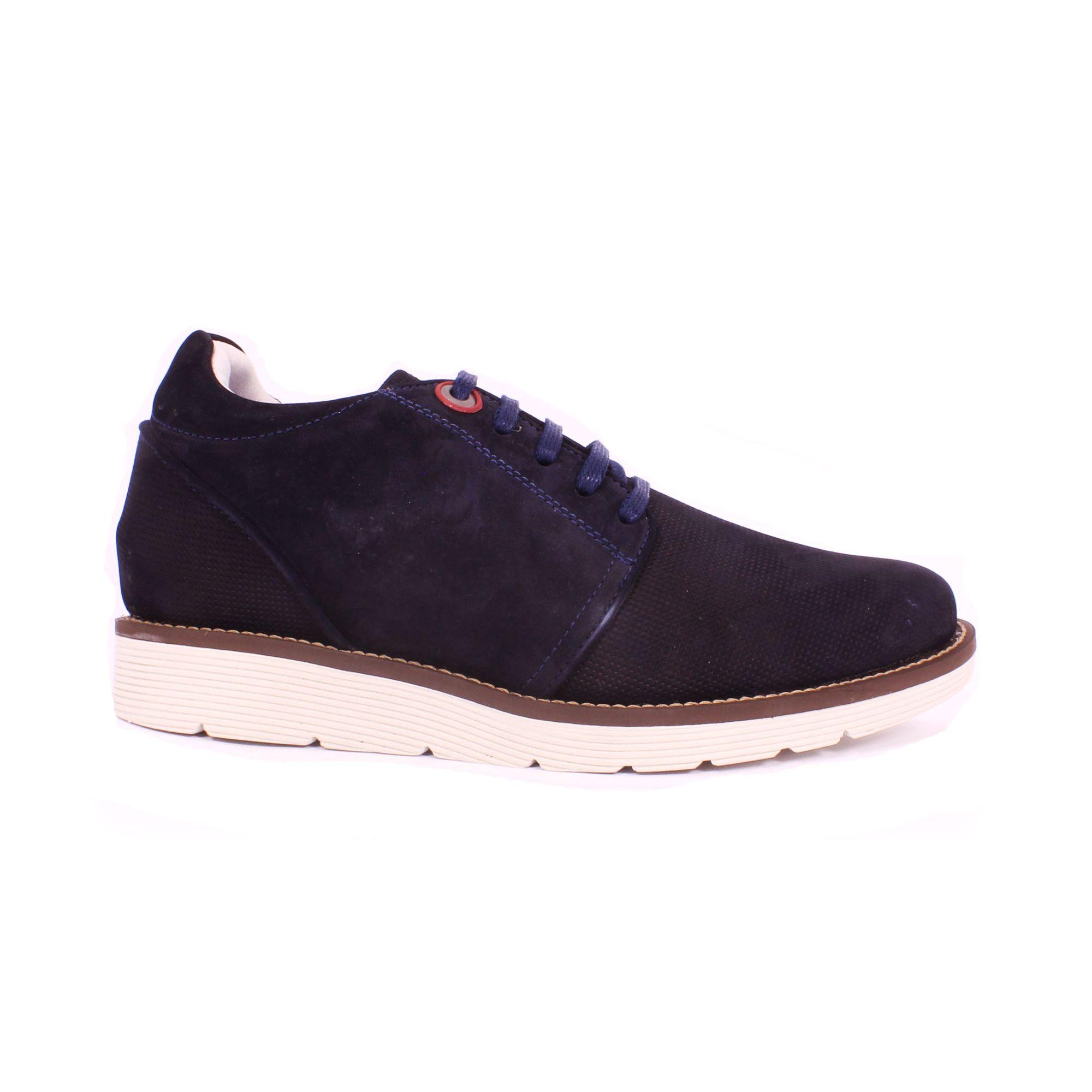 Zapato Casual Avenue Azul Max Denegri +7cms de Altura_70772