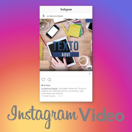 Video para Instagram