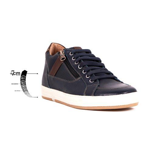 Tenis Hidden Jeans Max Denegri +7cms De Altura