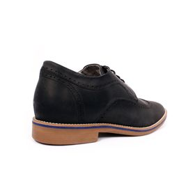 Zapato Casual Oxford Negro Max Denegri +7cm de Altura_70897