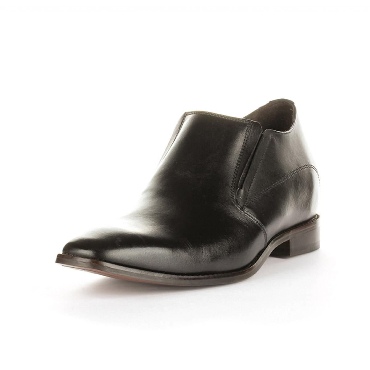 Zapato Formal Style Negro Max Denegri + 7cms de Altura _75832