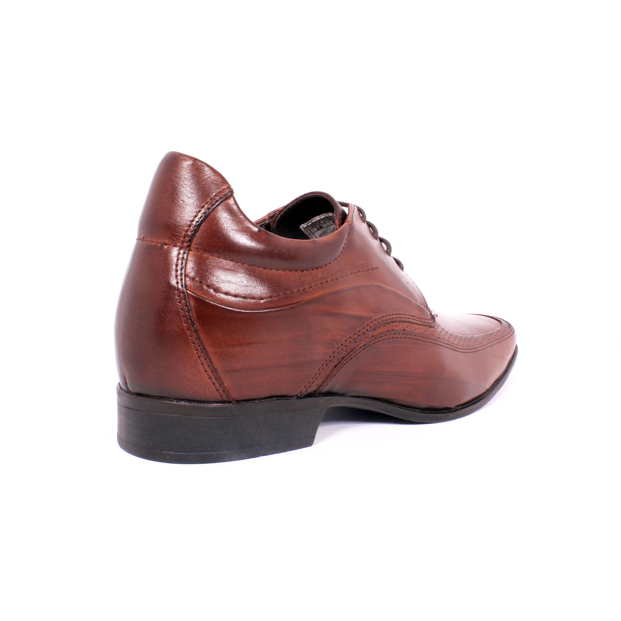 Zapato Formal Manager Café Max Denegri +7cms de Altura_70836
