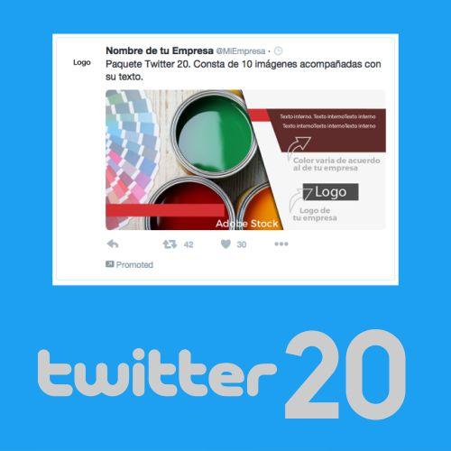 20 piezas de contenido para Twitter