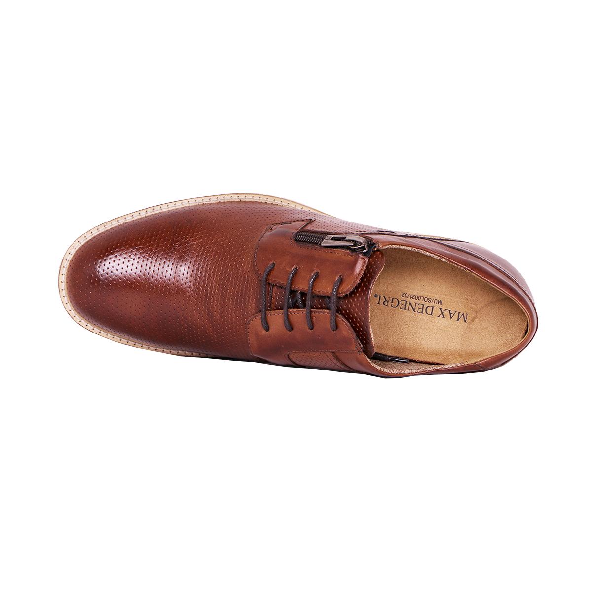 Zapato Casual Break Café Max Denegri +7cms De Altura_72800
