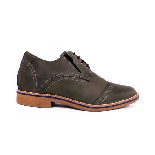 Zapato Casual Trend Gris Petroleo Max Denegri +7cm de Altura