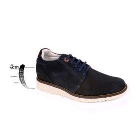Zapato Casual Avenue Azul Max Denegri +7cms de Altura_75284