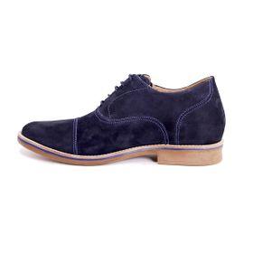 Zapato Casual Hippie Azul Max Denegri +7cms de Altura_72694