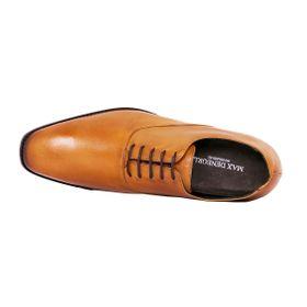 Zapato Formal Elegant Café Claro Max Denegri +7cm de Altura_72811