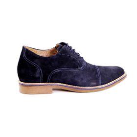 Zapato Casual Hippie Azul Max Denegri +7cms de Altura_72693