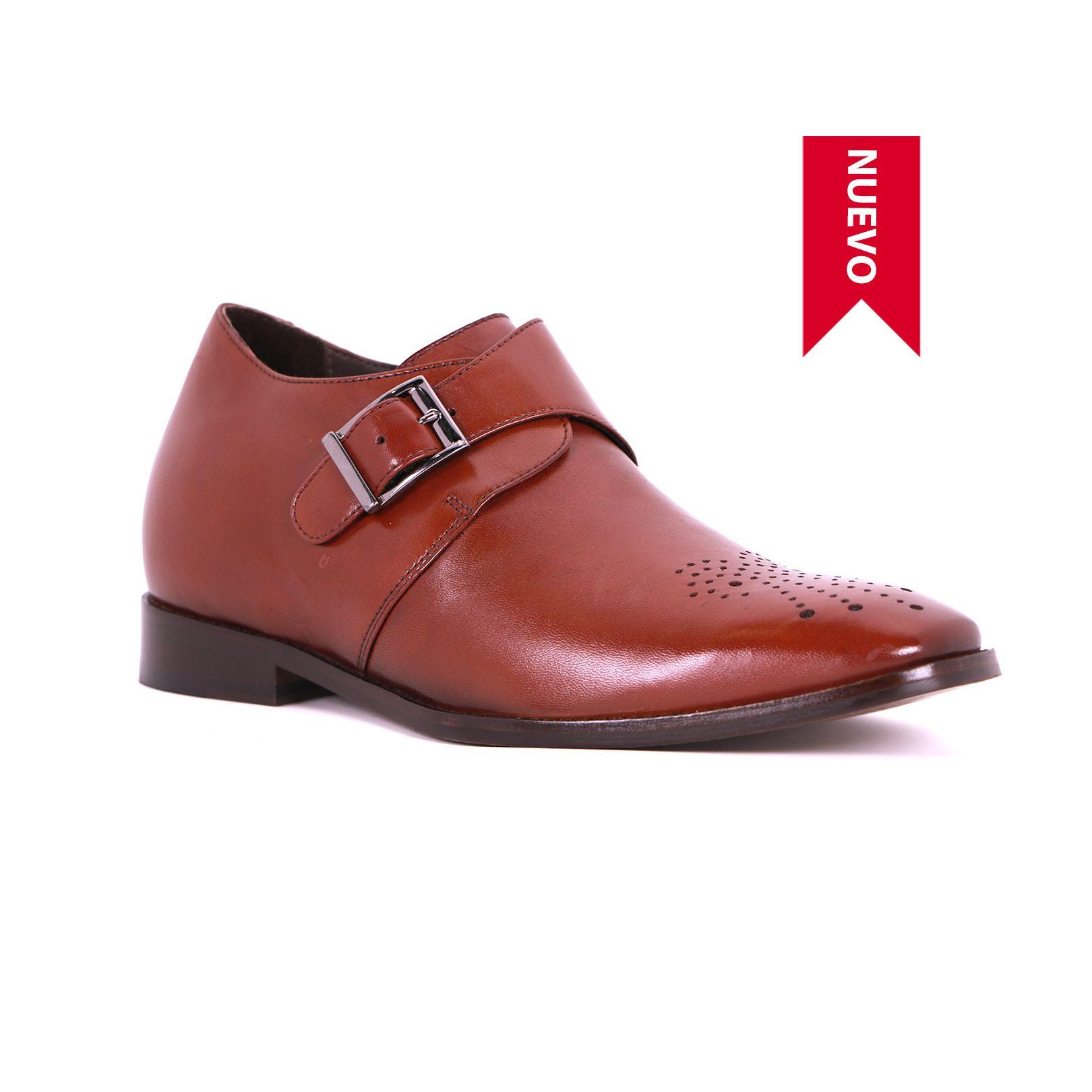 Zapato Formal Gentleman Café Oscuro Max Denegri +7cms de Altura_73440