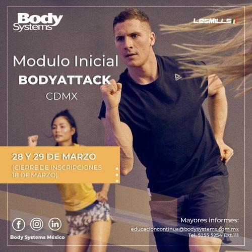 Módulo Inicial BODYATTACK 2020 en Ciudad de México 28 y 29 marzo