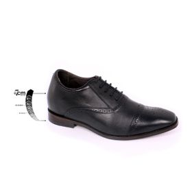 Zapato Formal British Negro Max Denegri +7cms de Altura