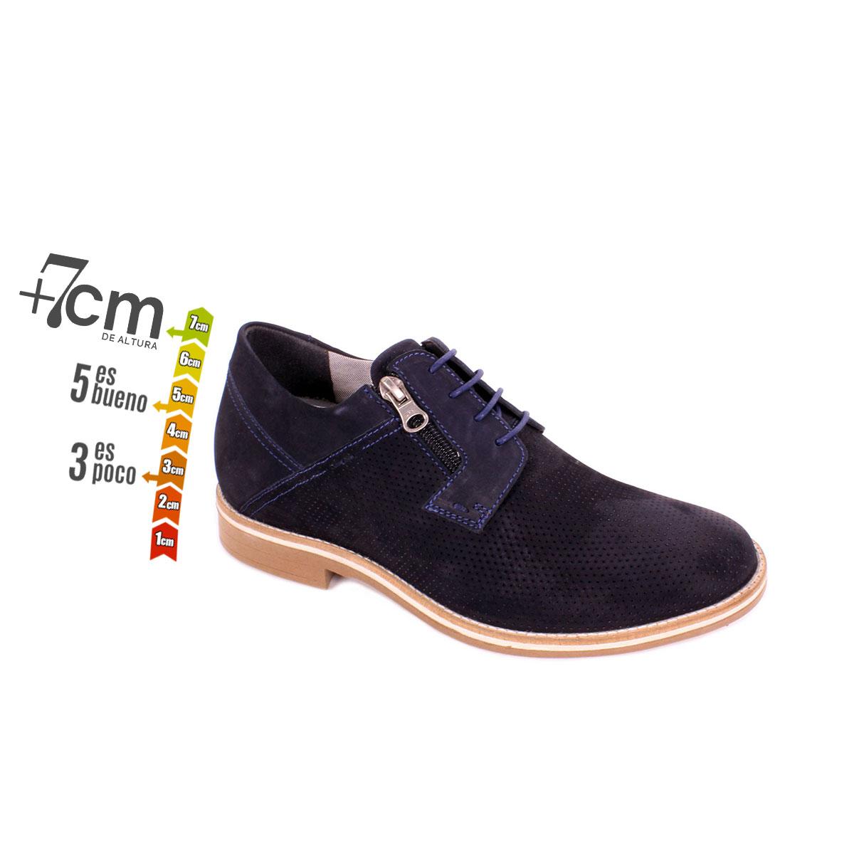 Zapato Casual Break Azul Max Denegri +7cm de Altura_74104