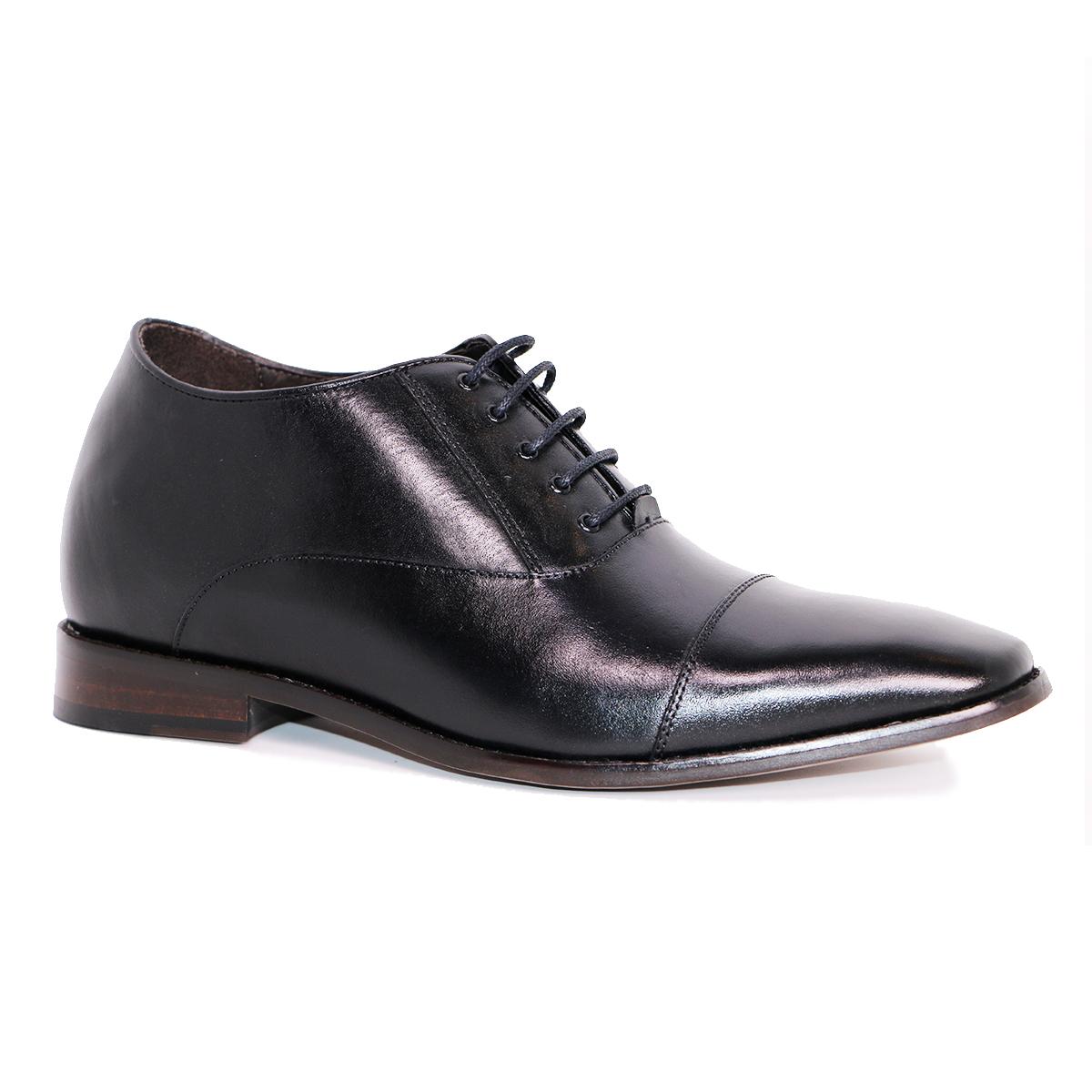 Zapato Formal Director Negro Max Denegri +7cms de Altura