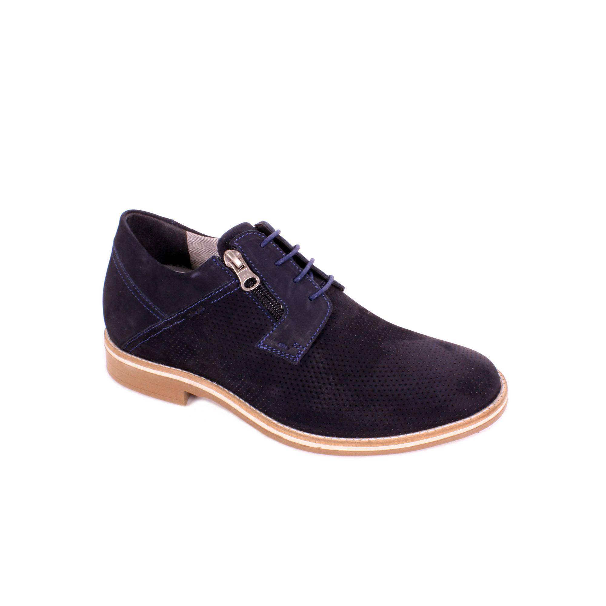 Zapato Casual Break Azul Max Denegri +7cm de Altura_70941