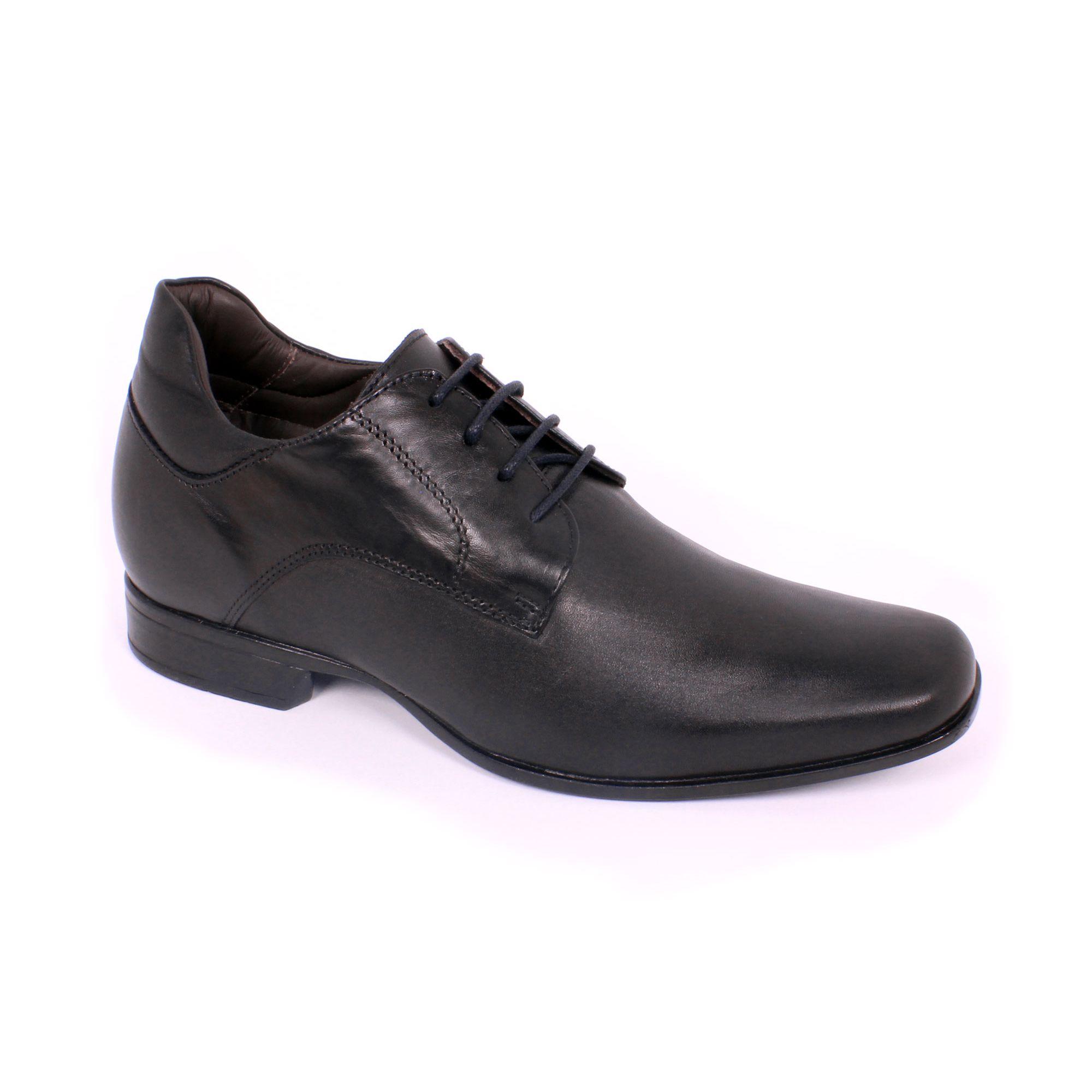 Zapato Formal Fashion Negro Max Denegri +7cm de Altura_70820