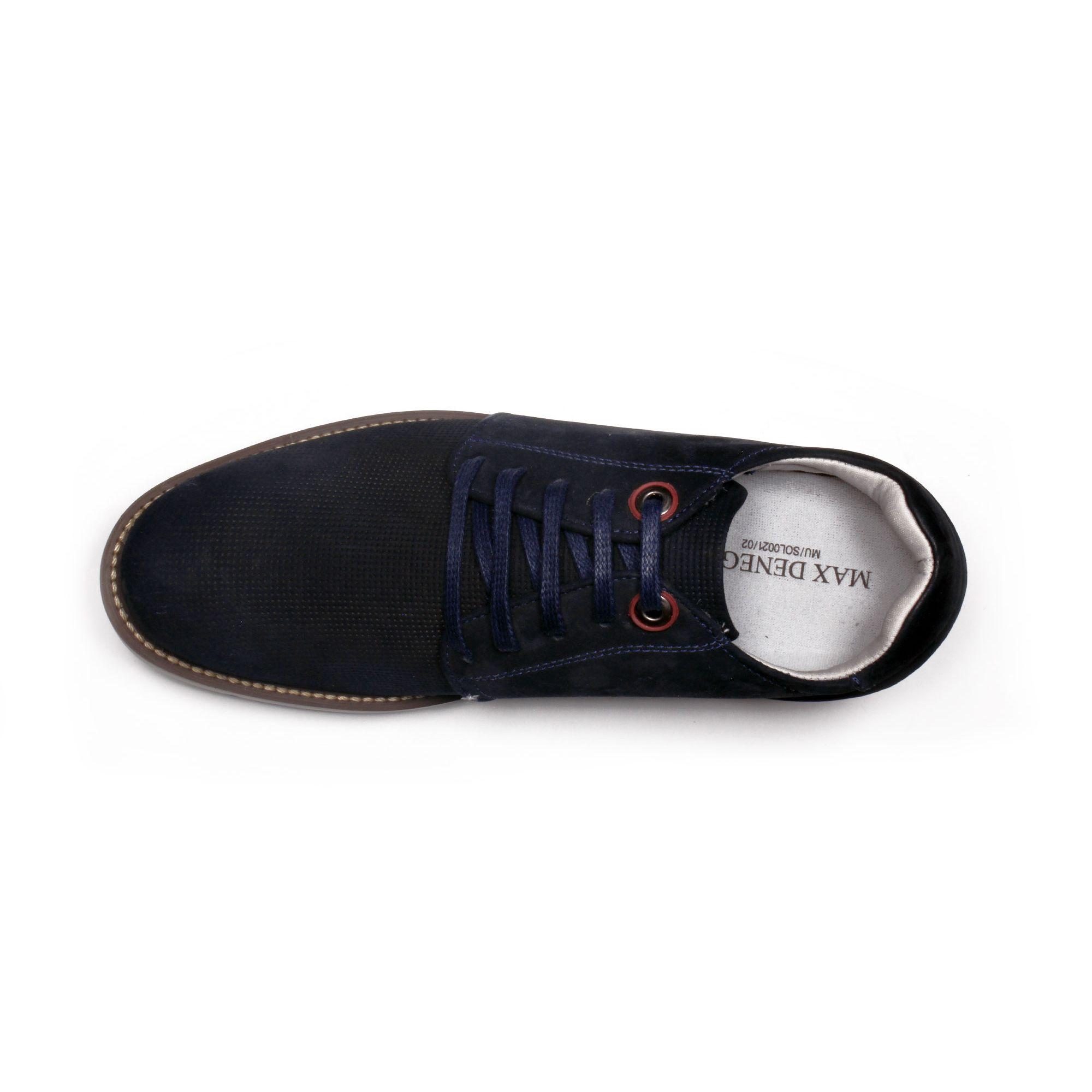 Zapato Casual Avenue Azul Max Denegri +7cms de Altura_70778