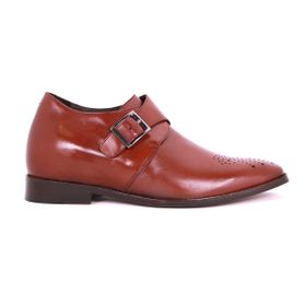 Zapato Formal Gentleman Café Oscuro Max Denegri +7cms de Altura_73376