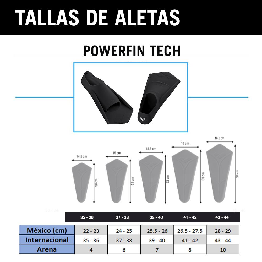 Aletas arena POWERFIN_74100