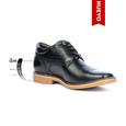 Zapato Citizen Negro Max Denegri + 7cms de Altura