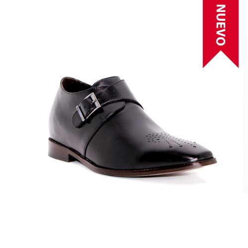 Zapato Formal Gentleman Negro Max Denegri +7cms de Altura
