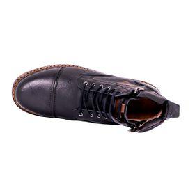 Botín Highlander Negro Max Denegri +7cms de Altura._72788