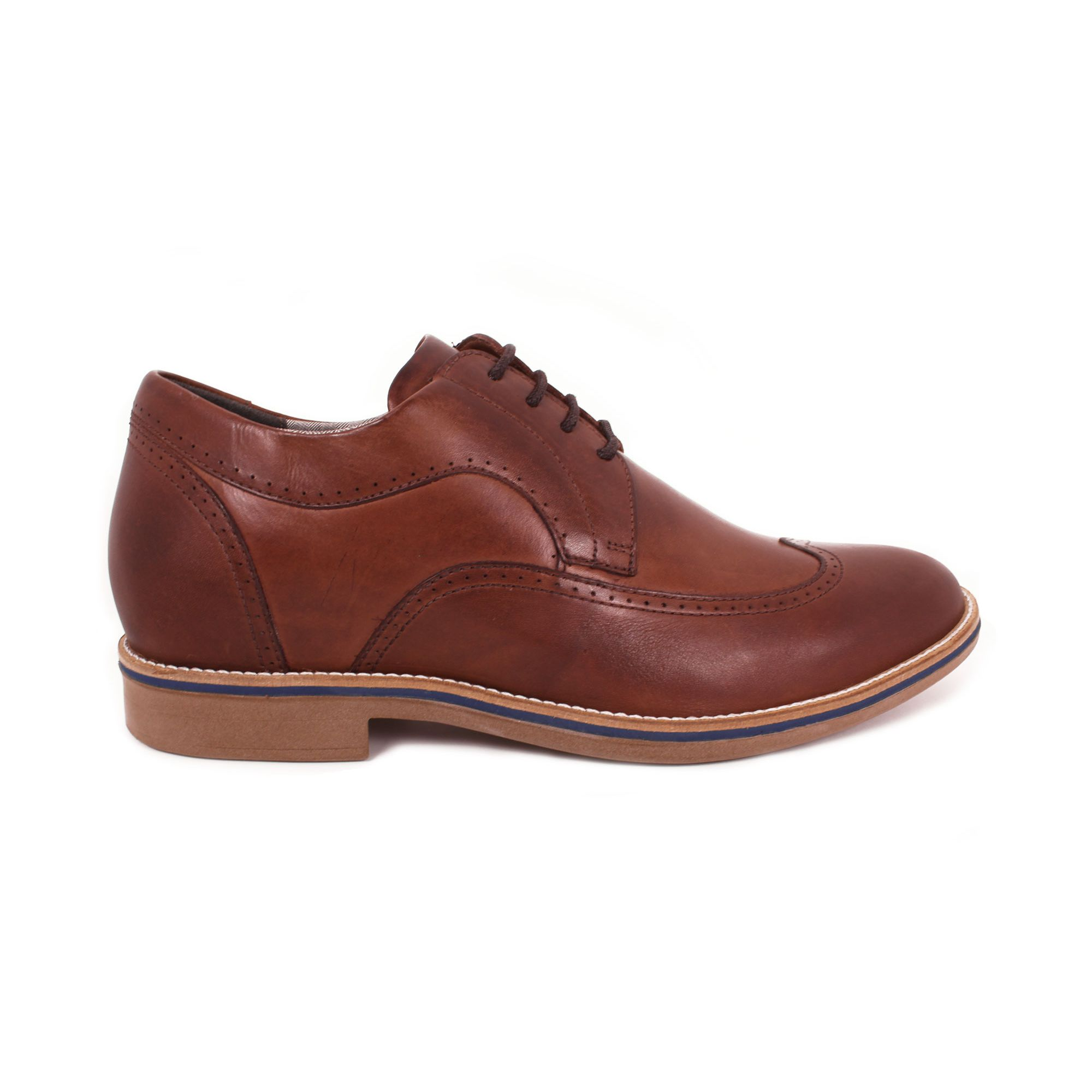 Zapato Casual Oxford Café Oscuro Max Denegri +7cm de Altura_71059