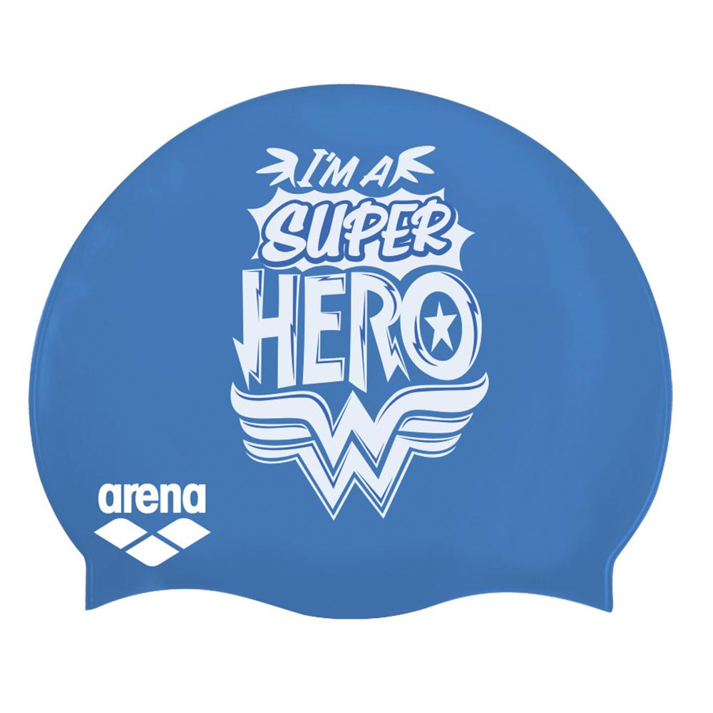 Gorro de natación arena SUPER HERO para niños_5025