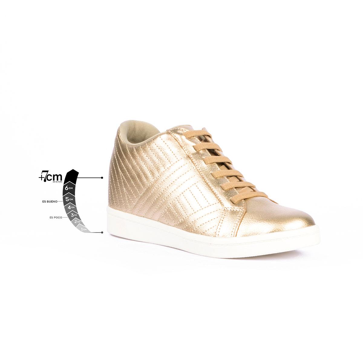 Tenis Casual Boulevard Oro Max Denegri + 7cms de Altura_76394