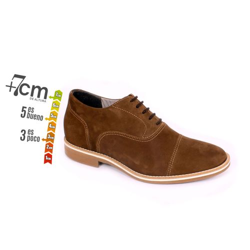 Zapato Casual Hippie Café Max Denegri +7cm de Altura