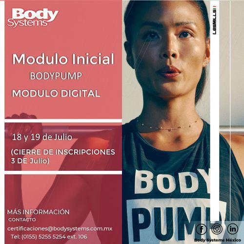 Módulo Inicial BodyPump 2020 el 18 y 19 julio (ON LINE)