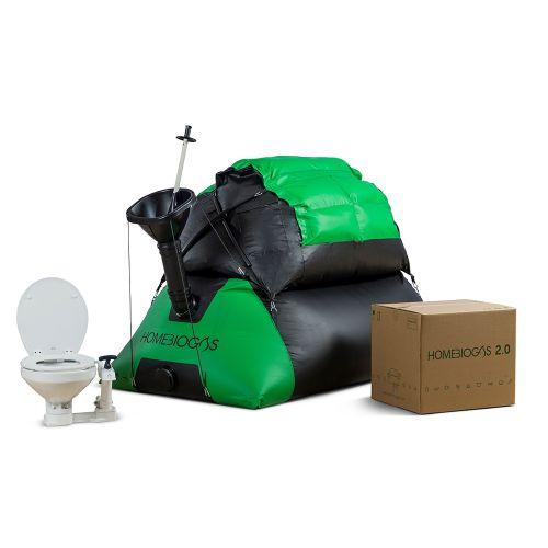 Biodigestor Homebiogas 2.0 con Toilet