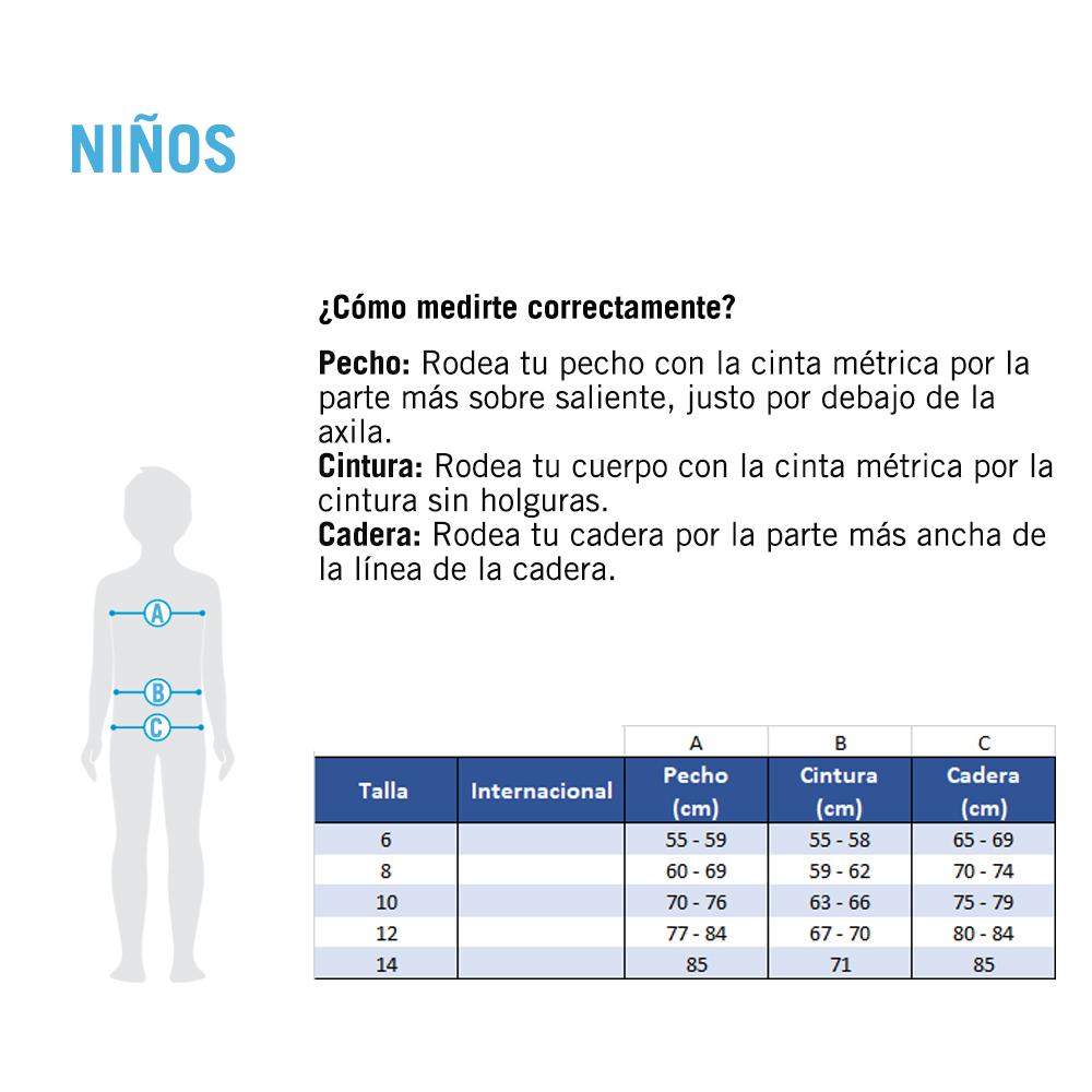 Traje de Baño Jammer arena para Niño Solid_73545