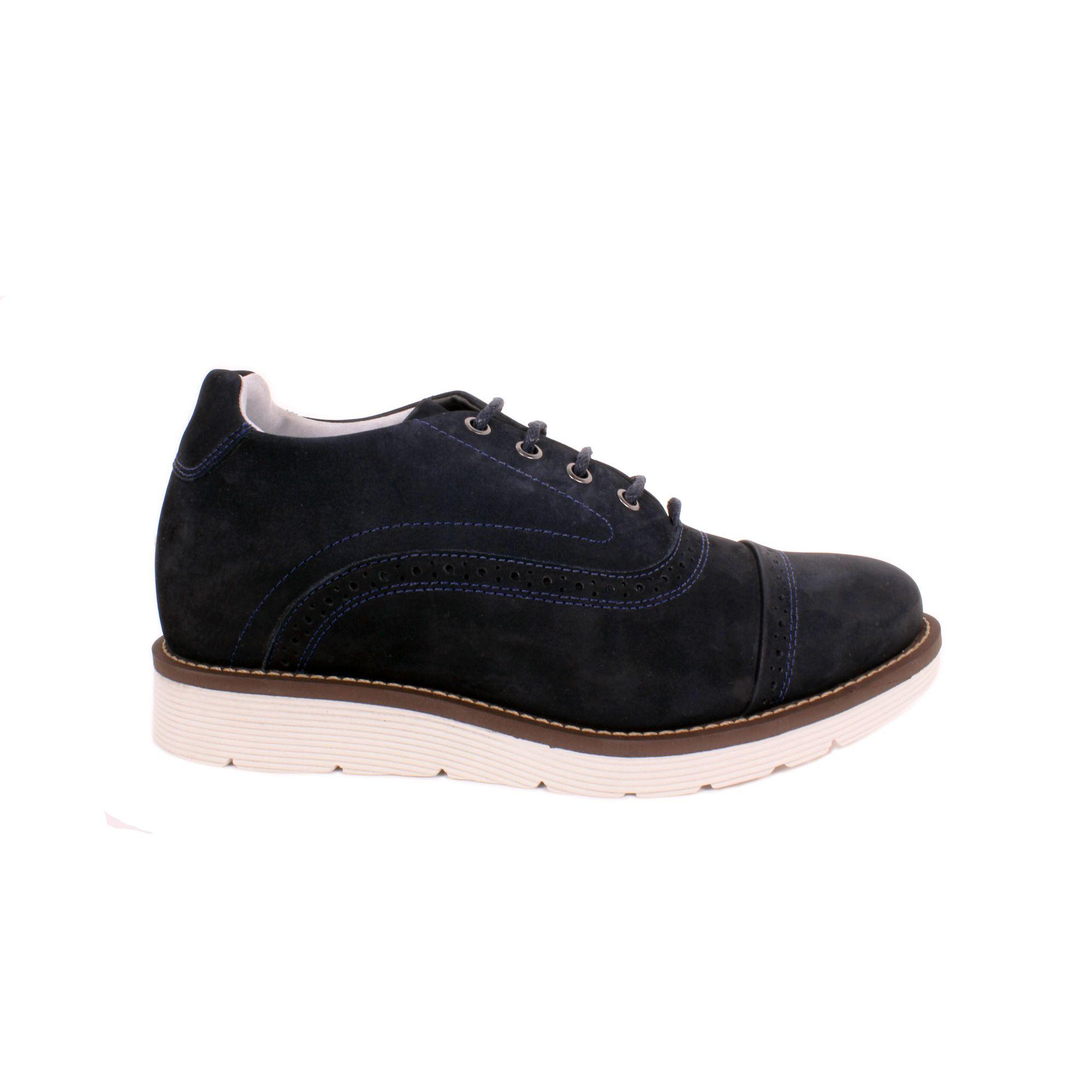 Zapato Casual Casino Azul Max Denegri +7cms de Altura_70947