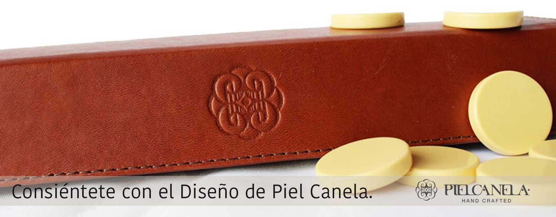 Piel Canela Juegos de Mesa, alto diseño en artículos finos de piel