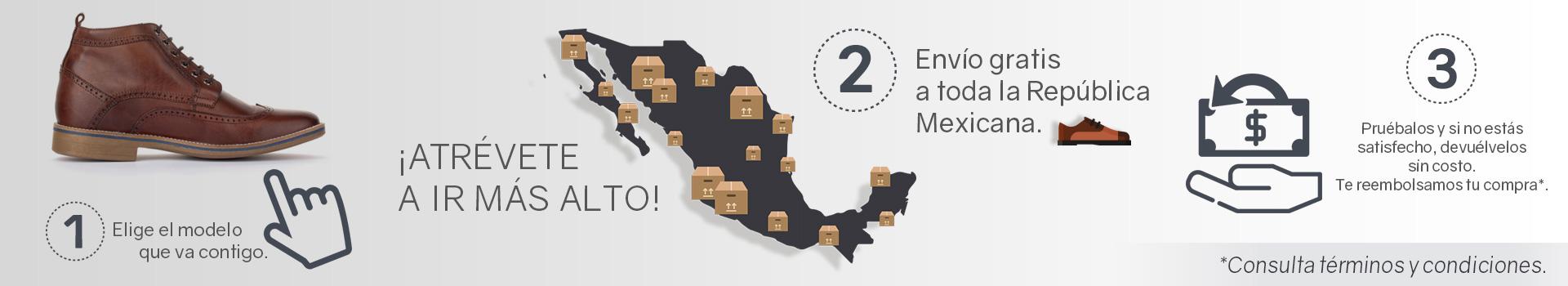 Max Denegri México envío gratis a todo México